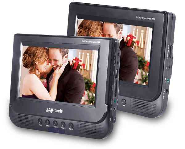 jay tech 728k dvd 7 car cinema set dvd player tft set f r. Black Bedroom Furniture Sets. Home Design Ideas